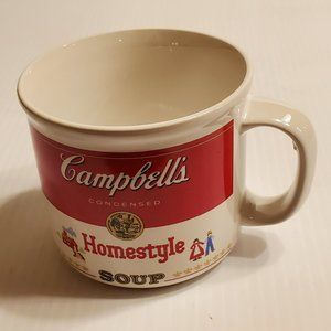 Vtg 1989 Campbell's Homestyle 16oz Soup Bowl/Mug